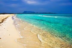 精采的海滩 库存图片