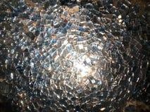 精采美丽的玻璃,被突出的珍贵的金刚石石头,假钻石的片段纹理摆正纯净轻transpar 库存照片