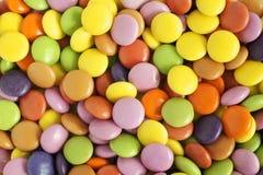 糖上漆的糖果或甜点 免版税图库摄影