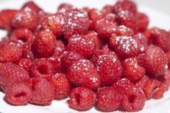 糖上漆的莓山  图库摄影