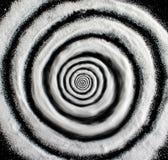 糖催眠状态螺旋 库存照片