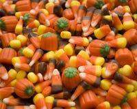 糖味玉米万圣节 库存图片
