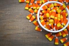 糖味玉米边界 免版税库存照片