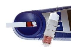糖尿病设备 库存图片