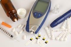 糖尿病 免版税库存图片