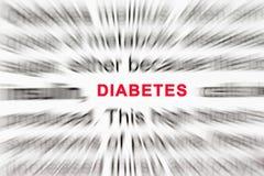 糖尿病 图库摄影