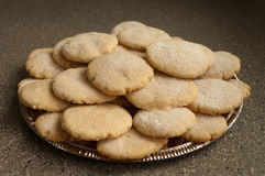 糖屑曲奇饼#7 库存照片