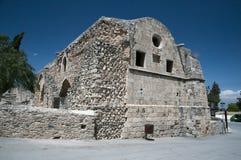糖工厂Kalossi城堡塞浦路斯 免版税库存照片