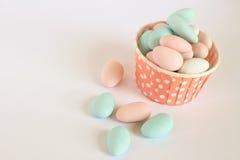 糖果上漆的糖 免版税库存图片