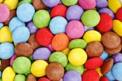 糖果上色了 免版税库存图片