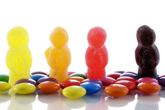 糖果世界 库存图片