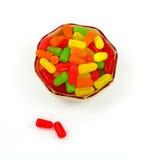 糖果五颜六色加上甜点二 图库摄影