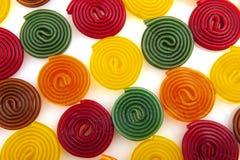 糖果五颜六色的卷 免版税库存照片