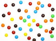 糖果五颜六色的批次 免版税图库摄影