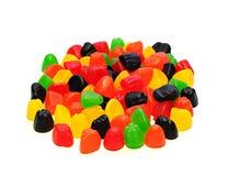糖果五颜六色的果冻 图库摄影