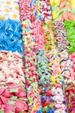 糖果五颜六色的果冻 免版税图库摄影