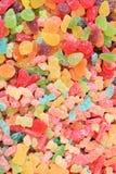 糖果五颜六色胶粘 库存图片