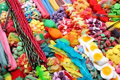 糖果分类 库存照片