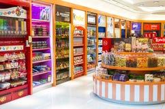 糖果和巧克力界面 免版税库存图片