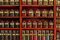 糖果商店 免版税库存照片