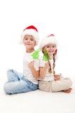 糖果圣诞节开玩笑棍子 免版税库存照片