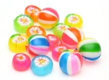 糖果在白色背景中 免版税库存图片