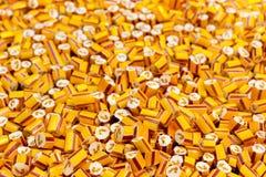 糖果在糖果工厂 免版税库存照片