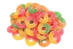 糖果堆甜点 免版税库存照片