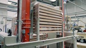 糖果工厂 做糖果的工业机器 影视素材