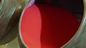 糖果工厂 混合糖果的机器果冻液体 影视素材