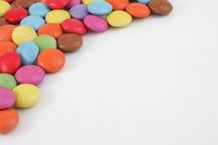 糖果巧克力上色了多 库存图片