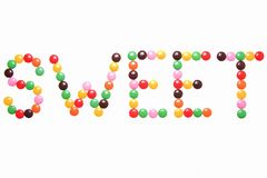 糖果巧克力 库存图片
