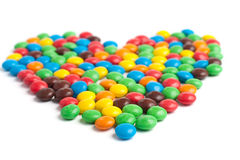糖果心脏 库存图片