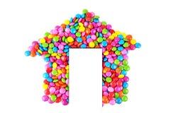 糖果房子 免版税库存照片
