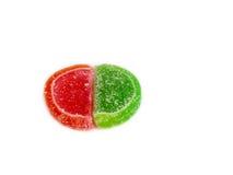 糖果接近五颜六色 免版税库存照片