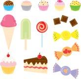糖果收集 免版税库存照片