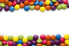 糖果框架  免版税库存照片