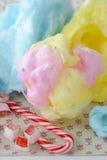 糖果棉花 库存照片