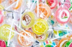 糖果棒棒糖。 免版税库存照片
