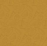 糖果模式无缝的界面 免版税库存图片