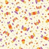 糖果模式甜点 库存例证