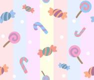 糖果模式甜点 图库摄影