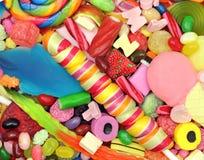 糖果混合物 库存图片