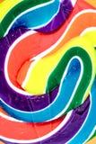 糖果漩涡Lollypop 免版税图库摄影