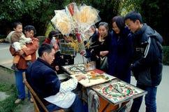 糖果瓷制造商pengzhou 免版税库存照片