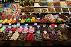 糖果界面 免版税库存照片