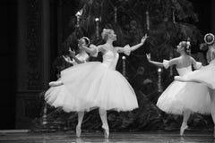 糖果神仙的舞蹈第二个行动第二领域糖果王国-芭蕾胡桃钳 库存照片