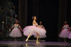 糖果神仙的舞蹈第二个行动第二领域糖果王国-芭蕾胡桃钳 免版税库存图片