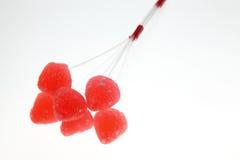 糖果红色 免版税图库摄影