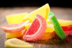 糖果耐嚼的果冻 库存图片
